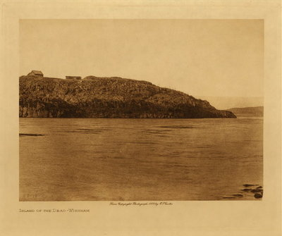 Title: Island of the Dead - Wishham , Date: 1909 , Size: Volume, 9.5 x 12.5 inches , Medium: Vintage Photogravure , Edition: Vintage