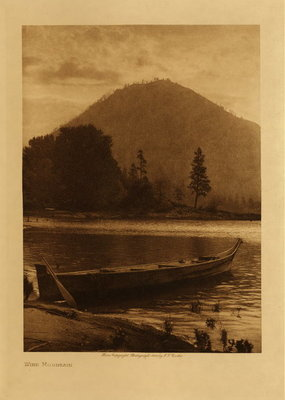 Title: Wind Mountain , Date: 1910 , Size: Volume, 12.5 x 9.5 inches , Medium: Vintage Photogravure , Edition: Vintage