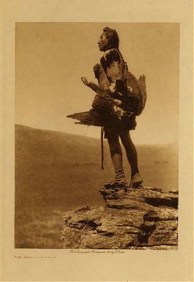 Title: The Eagle Catcher , Date: 1908 , Size: Volume, 12.5 x 9.5 inches , Medium: Vintage Photogravure , Edition: Vintage
