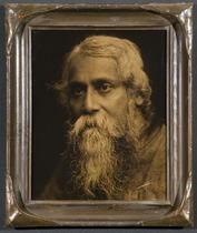 Title: Rabindranath Tagore (Unpublished) , Size: 10 x 8 inches , Medium: Vintage Goldtone , Signed: L/R , Edition: Vintage