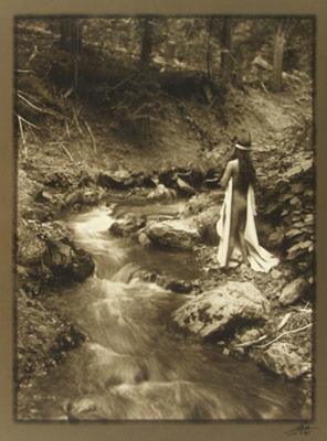 Title: Maid of Dreams , Date: 1920 , Size: 14 x 11 inches , Medium: Vintage Silver Gelatin , Signed: L/R , Edition: L.A.