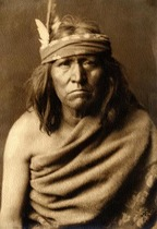 Title: Renegade Type- Apache , Size: 15.25 x 11 inches , Medium: Vintage Platinum Print , Signed: L/R , Edition: Vintage
