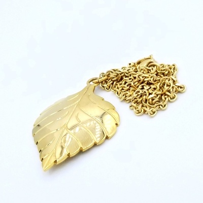 Title: Pendant with Chain , Medium: 18K gold , Signed: Signed