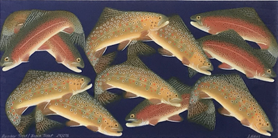 Judy Haas - Rainbow Trout / Brown Trout