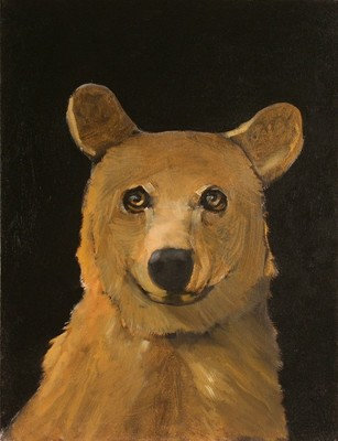 Title: Golden Boy , Size: 20 x 15 inches , Medium: Oil on Board , Edition: Original