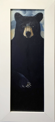 Title: Glimpse III , Size: 47 x 14 1/2 inches , Medium: Oil on Board , Signed: Signed , Edition: Original