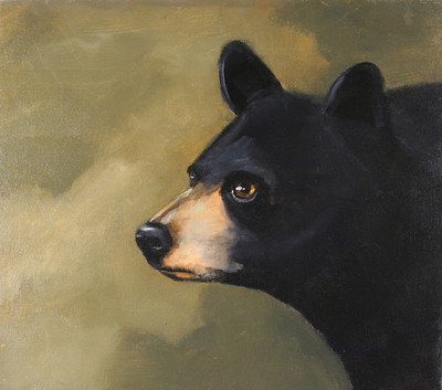 Title: Bear Census , Size: 16 x 18 inches , Signed: Signed