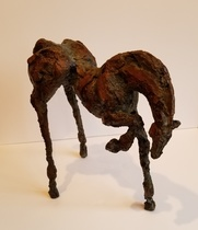 Title:  Paz , Size: 15 x 15 x 6 inches , Medium: Bronze , Edition: 2/25