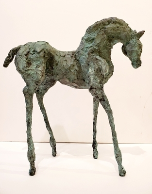 Title: Guapa , Size: 17.5 x 16 x 5 , Medium: Bronze , Signed: Signed , Edition: 1/30