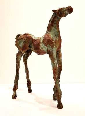Title: Pepa , Size: 12 3/4 inches , Medium: Bronze , Signed: Signed , Edition: 9/25