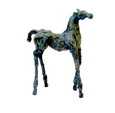 Title: Pepa , Size: 13 x 11 inches , Medium: Bronze , Signed: Signed , Edition: of 25