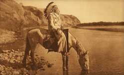 Edward S. Curtis Bow River