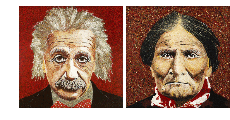 Einstein and Geronimo