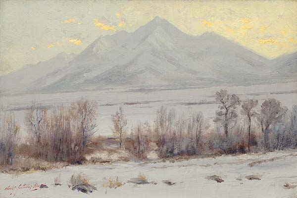 Snow, Mt. Princeton