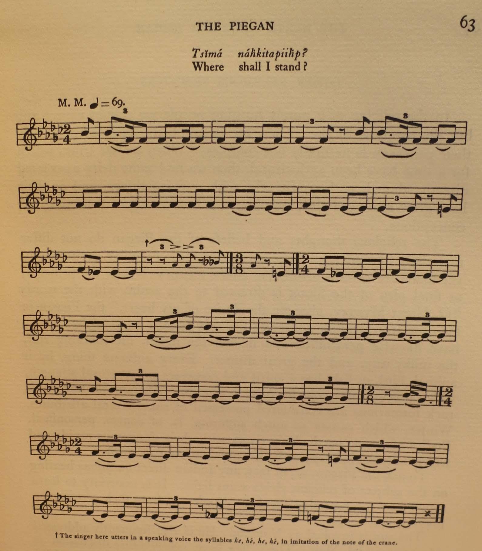 VI Musical Score