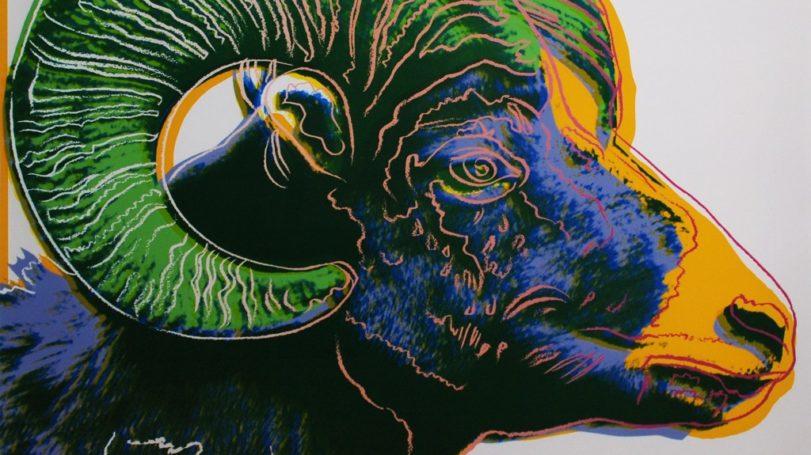 Warhol Bighorn Ram