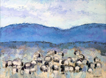 Theodore Waddell, Sun Valley Sheep #4
