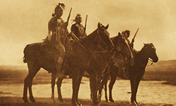 Custer's Crow Scouts by Edward Curtis
