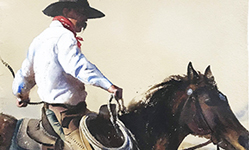 William Matthews Nevada Horseman